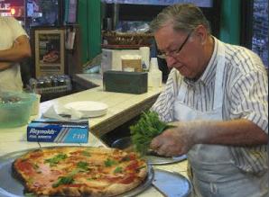 THE BEST PIZZA  In AMERICA !!!!!! Di Farra Pizza Brooklyn, NEW YORK