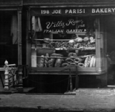 FRANK'S FAVORITE ITALIAN BREAD ... PARISI on MOTT STREET, LITTLE ITALY, New York, NY