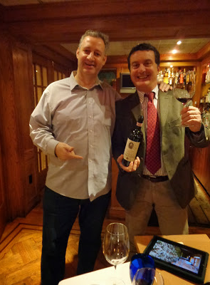 Daniel Bellino-Zwicke & Calvalieri Luigi Cappellini at DeGrezia Restorante NEW YORK
