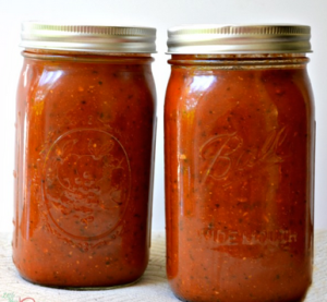 Homemeade Marinara Sauce