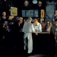 John Sloan Greenwich Village New York NY McSORLEYS ALE HOUSE